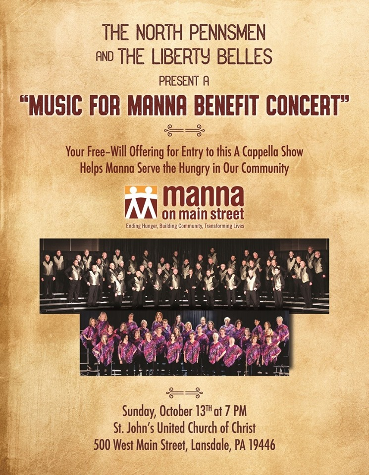 Music for Manna Benefit Concert