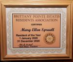 Liberty Belle Member receives Top Honors at Brittany Pointe!