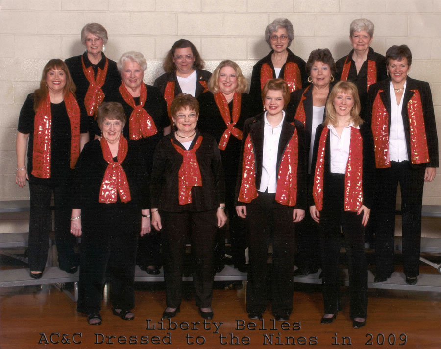 The Liberty Belles in 2009